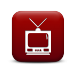 red-square-icon-tv